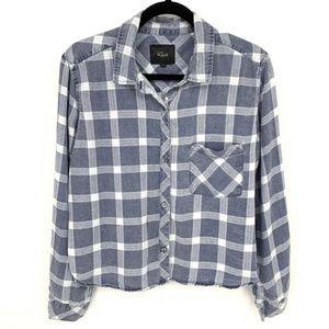 Rails Dana Midnight Grid Print Shirt